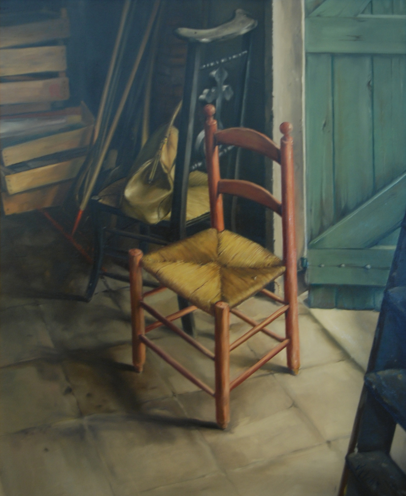 Chair in the Workshop