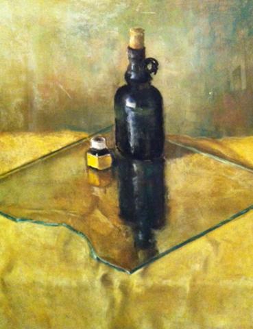 Bottles on Glass