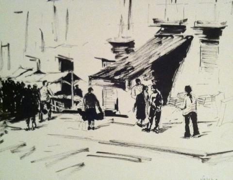 Market in Andalousia
