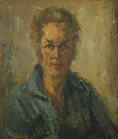 Petrus Valckx (Self Portrait)