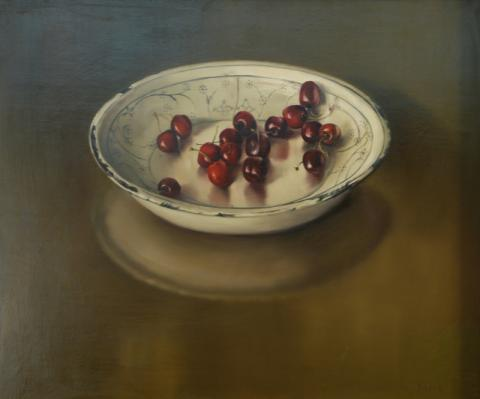 Still Life, Cherries