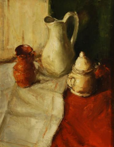Still Life, Pitchers